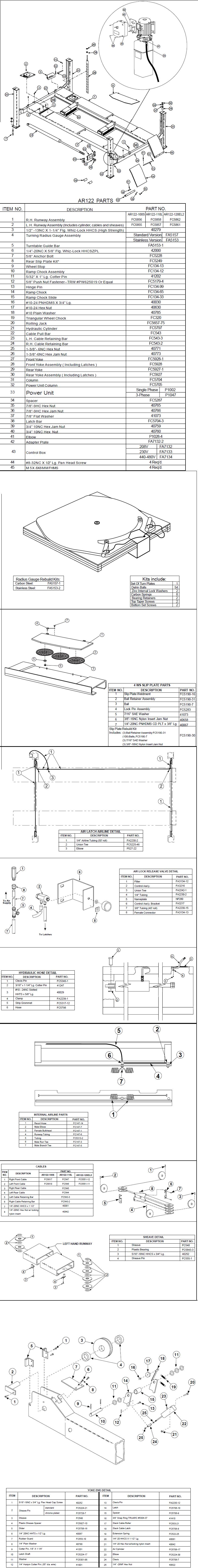 Rotary Ar122 Parts Diagram