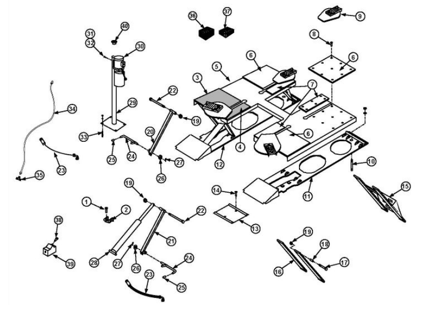 Rotary Psl6 10 Parts Diagram