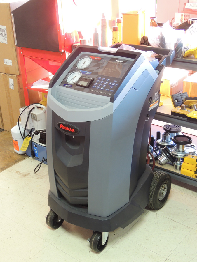 Equipment City Used Robinair Ac1234 R1234yf Ac Recovery Machine