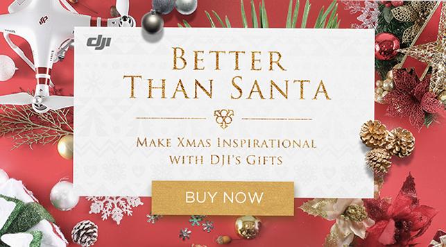 DJI Christmas Promotion
