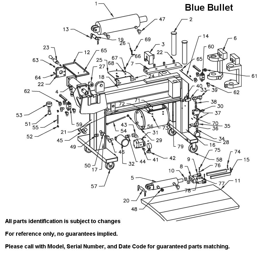 bullet parts diagram