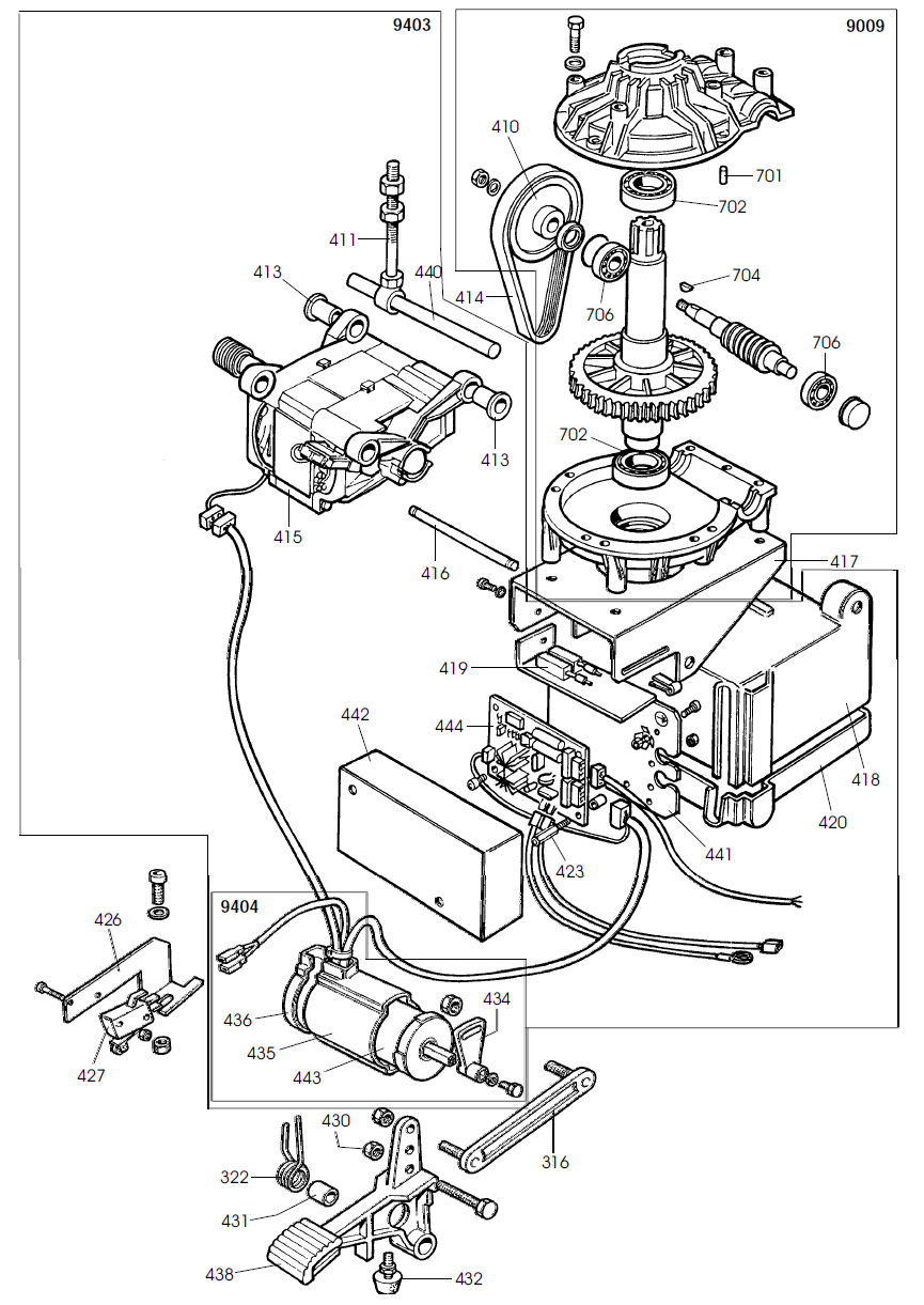 parts diagram for corghi a2019