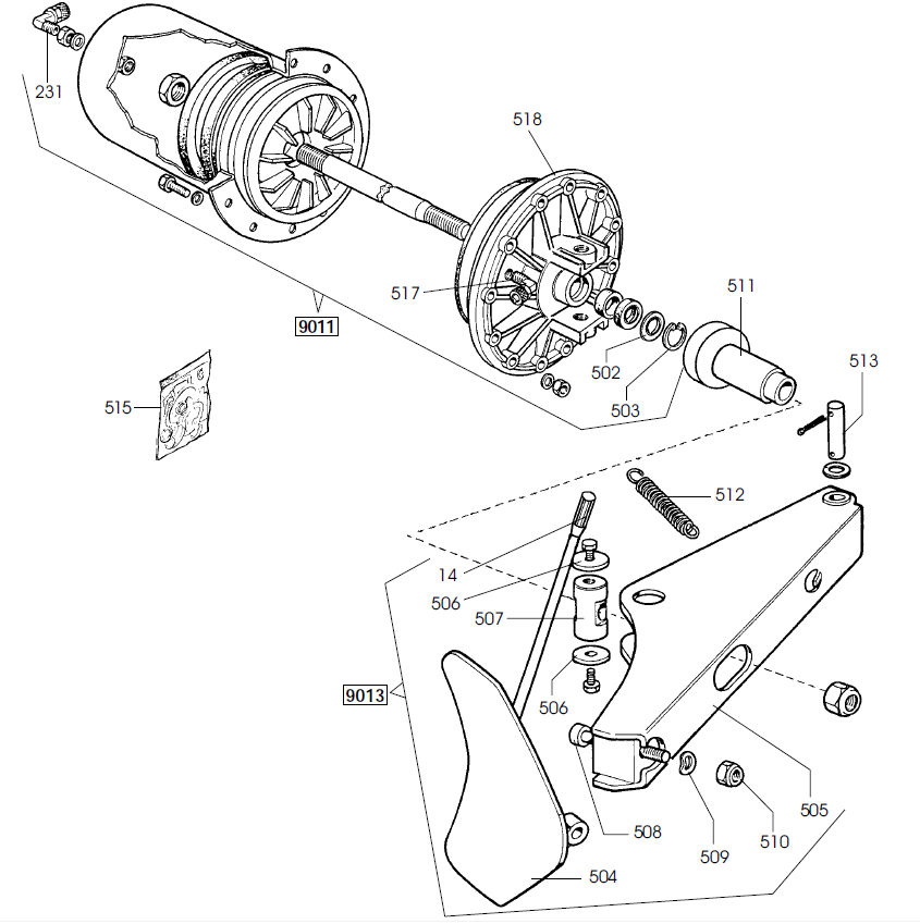 corghi tire changer parts manual