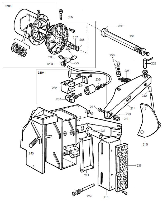 parts diagrams for corghi art basic