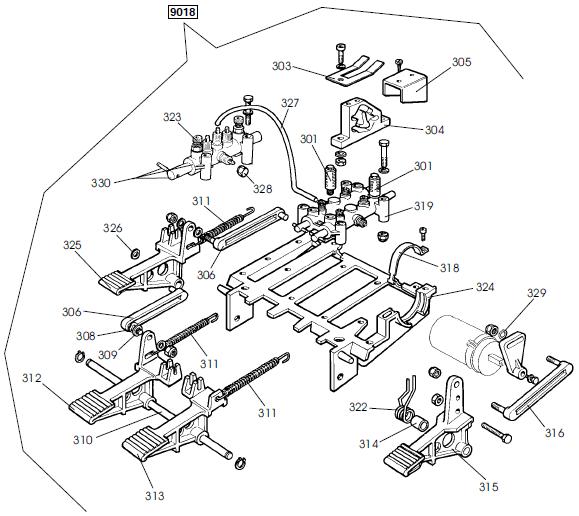 parts diagram for corghi a2024ti