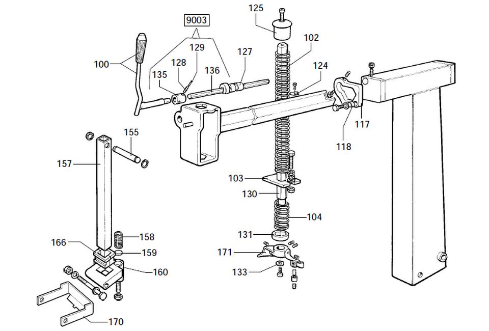 parts diagram for corghi a2001s