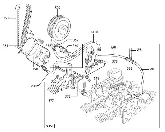parts diagram for corghi a9220ti