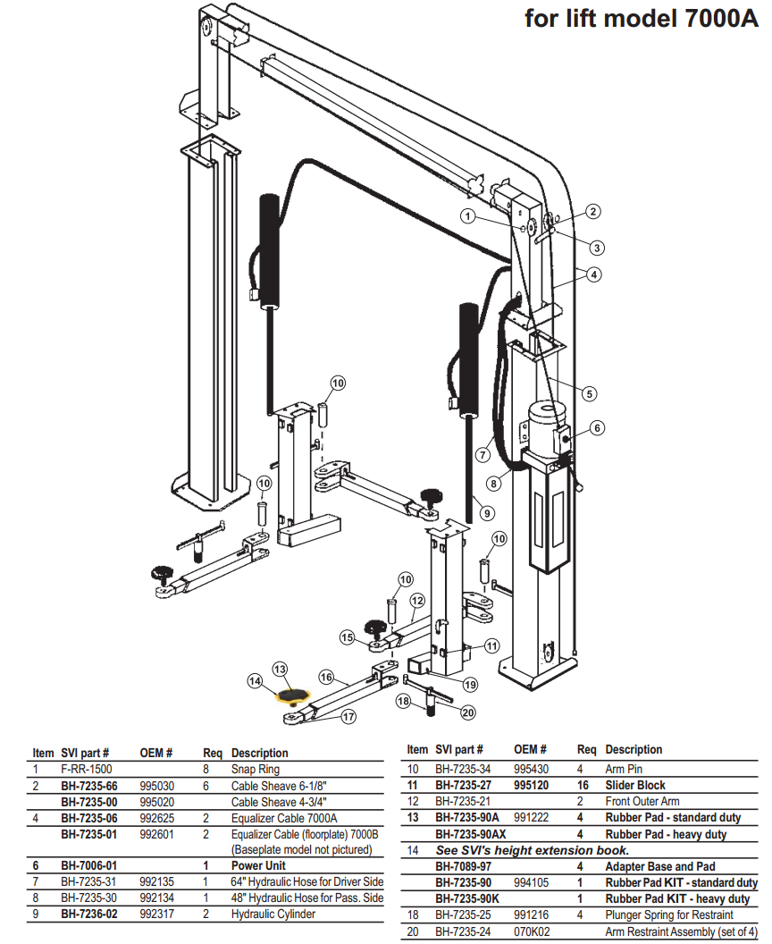 rotary lift wiring diagram