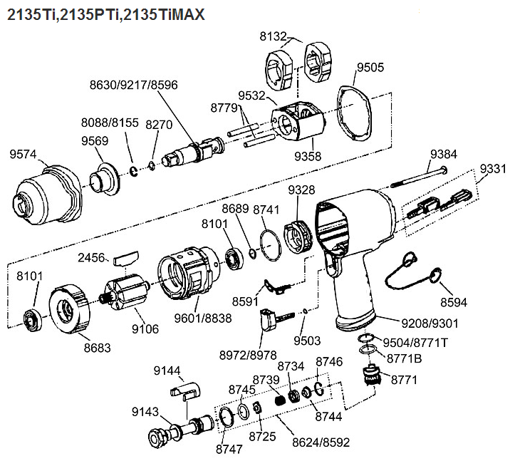 ir impact parts diagram