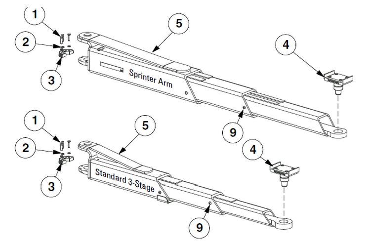 Rotary Lift Replacement Parts : Rotary spo wo parts diagram