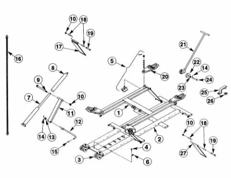 Fj671 2 Lift Part on audi q5 parts diagram