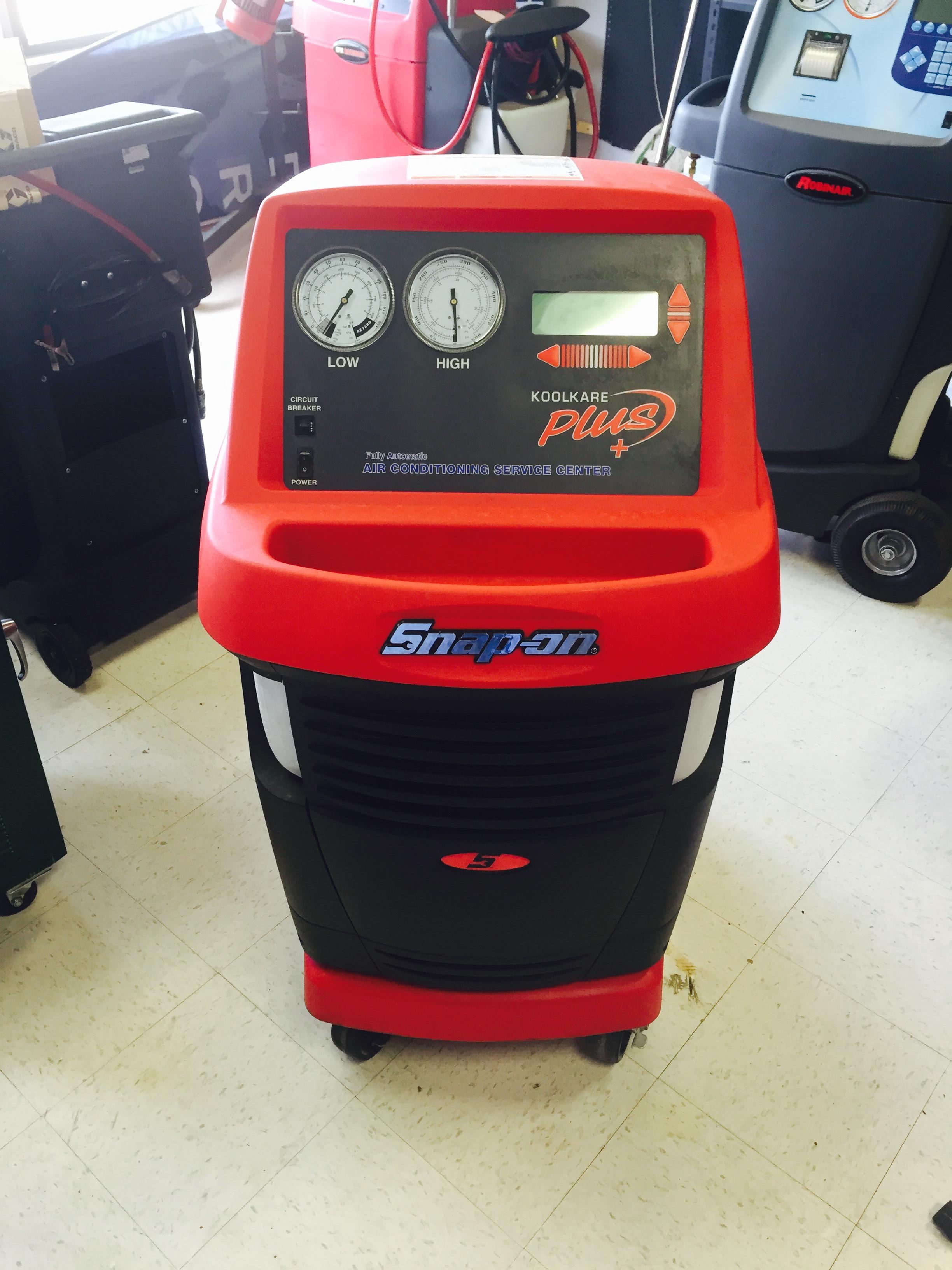 Robinair Ac Machine >> Un-Used/ Factory Return Snap-On EEAC325B AC Machine ...